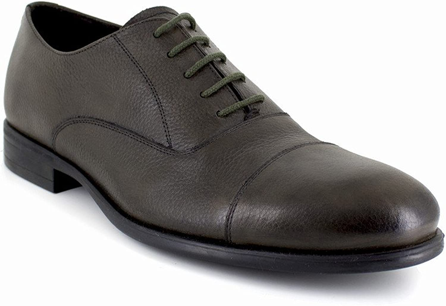 280e9e91447 JB-FARLOW Leather Green Richelieu J.Bradford wizu4e429249-New Shoes ...