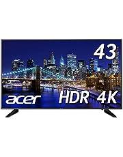 Acer 4Kモニター DM431Kbmiiipfx 43インチ IPS 半光沢 3840x2160 4K 75Hz 250cd 5ms HDR Ready HDMI DisplayPort