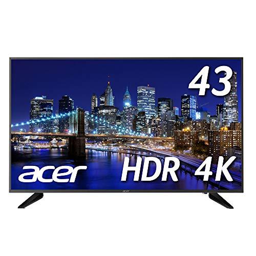 Acer 4Kモニター DM431Kbmiiipfx 43インチ IPS 半光沢 3840x2160 4K 75Hz 250cd 5ms HDR Ready HDMI Displa...