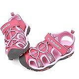 ALEADER Kids Youth Sport Water Hiking Sandals (Toddler/Little Kid/Big Kid) Pink 4 M US Big Kid