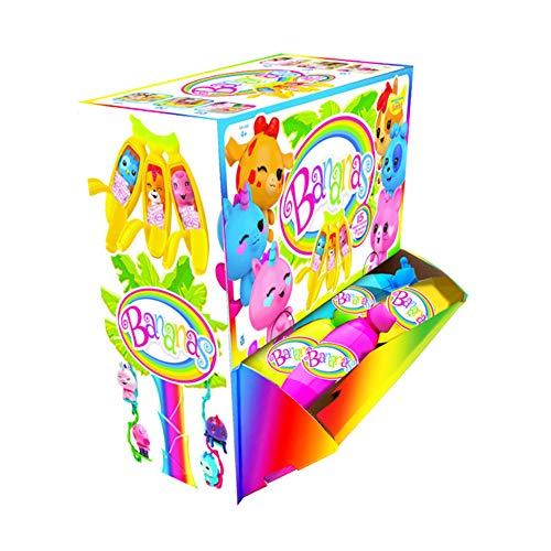 Bandai - Pack de 36 de bananas individuales (30001), color/modelo surtido