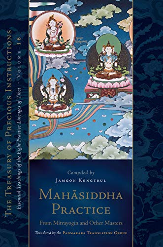 Compare Textbook Prices for Mahasiddha Practice: From Mitrayogin and Other Masters, Volume 16 The Treasury of Precious Instructions  ISBN 9781611808933 by Kongtrul, Jamgon,The Padmakara Translation Group
