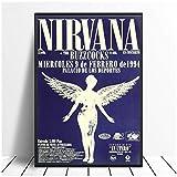 WYHKL Nirvana Palacio De Los Deportes Poster (Spanien 1994)