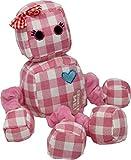 SNUG AROOZ Rosie The Robot -13''', Pink
