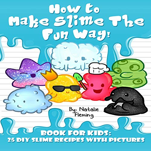 How to Make Slime the Fun Way! audiobook cover art