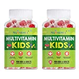 Nutraninix complete multivitamin vegetarian gummies for kids, teenagers, men, women, adults with essential