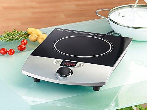 Plaque de cuisson à induction 2000 W pour casseroles - Jusquà 200°C [Rosenstein & Söhne]