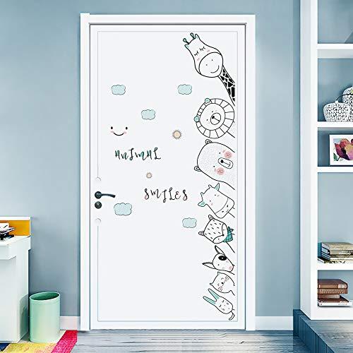 DKTIE - Pegatinas de pared para habitación de niños, habitación de bebé, decoración de pared, diseño de animales