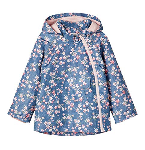 NAME IT Damen Übergangsjacke blau 116