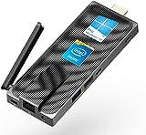 AWOW Mini PC Windows 10 PC Stick Intel Celeron J4105(up to 2.5GHz) Fanless Mini Computer 4GB DDR4 64GB eMMC Support 4K UHD,Dual Band WiFi,BT 5.0,Auto Power On