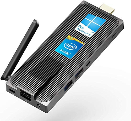 PC Stick MeLE NV41S Windows 10 Pro Intel Celeron J4105 Fanless Mini Comupter Stick 4GB 64GB eMMC Support 4K HD,2.4G/5G WiFi,Gigabit Ethernet,BT 4.2