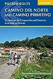 Pilgrim Route Camino del Norte and Camino Primitivo: To Santiago de Compostela and Finisterre from Irun or Oviedo (Cicerone Guides)