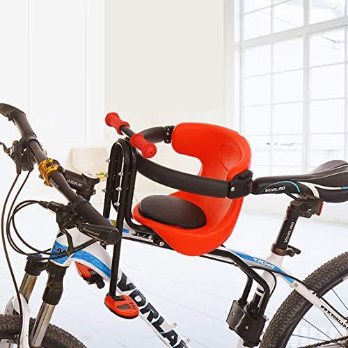 Teakpeak Kindersitz, Fahrradsitz Vorne für Kinder Kindersitz Vorne für Fahrrad für Mountainbike, Lager -50kg