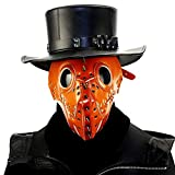 WYOY Steampunk Retro Rock Mask Devil Cosplay Fancy Gothic For Stage Performance Party Dance Ballroom Props