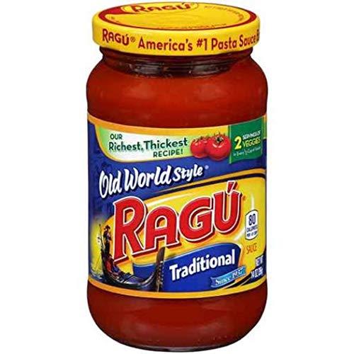 Ragu Old World Style Traditional Pasta Sauce 14 Oz -