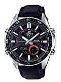 Casio Edifice Analog-Digital Black Dial Men's Watch-EFV-C100L-1AVDF (EX441)