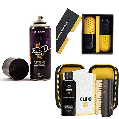 Crep Protect/Cure/Freshen Combo Bundle:Spray (5 oz), Travel Kit, Freshener Pill COMBO