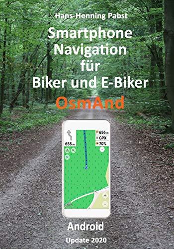 Smartphone Navigation für Biker und E-Biker OsmAnd Android