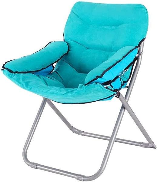Carl Artbay Footstool Blue PP Cotton Sofa Chair Nursing Chair Keep Warm Individual Folding Computer Chair Home