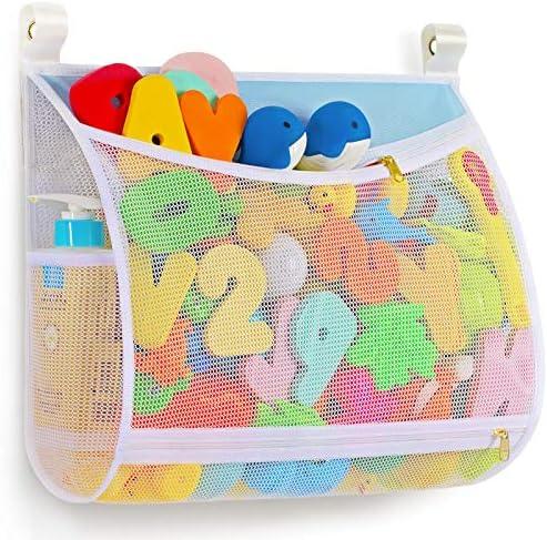 Regalo Baby Bath Toy Organizer with Machine Washable Multiple Suspension Bath Toy Holder Large product image