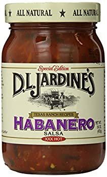 D.L Jardine s Habanero Salsa XXX Hot 16 Ounce