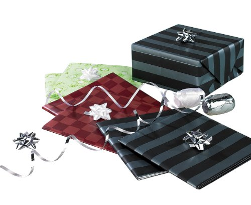 infactory Geschenkpapier: 14-teiliges Geschenkverpackungs-Set für jeden Anlass (Geschenk-Papier-Set)