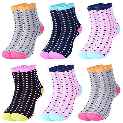L&K 6 Paar Damensocken Sportsocken Thermosocken Damen Socken Baumwolle Winter 92263 39-42