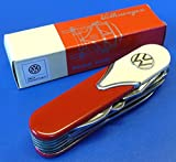 'Poches Couteau VW Bus style dans beige/rouge 10fonctions Top Qualité'