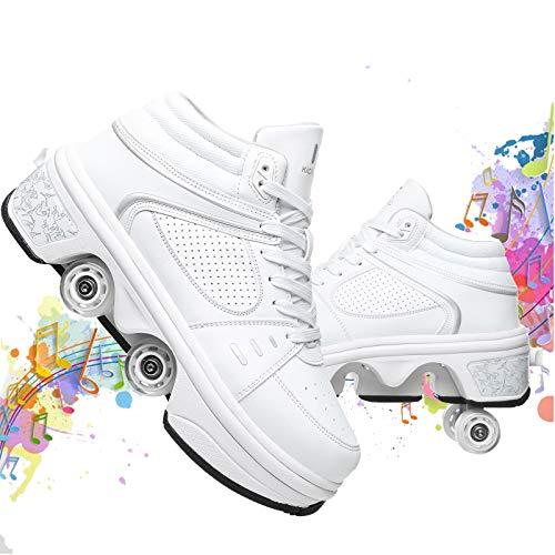 Zapatillas 2 Ruedas  marca SCDXJ