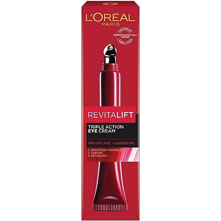 L'Oreal Paris Revitalift Triple Action Eye Cream, 15 ml