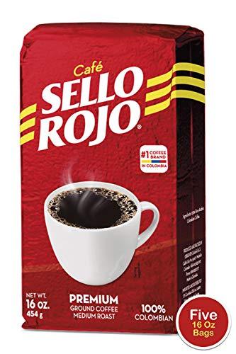 Sello Rojo 16 Ground Bricks (1 Pound (Pack of 5))