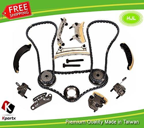 Kit de distribution Chaîne Compatible avec pour S-a-a-b 9–3 9–4 x 9–5 2.8L TDI (B284 B284r 2006–11 W/Gears