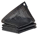 tela ombra ombra 85% for sun mesh tessuto crittografia cappuccio con occhielli □ coperta all'aperto copertura vegetale reversibile pioggia de pergola nero anti-ultravioletto tessuto di maglia incatram