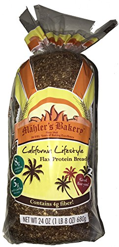 Mahler's Bakery - Flax Protein Bread - 1 Loaf
