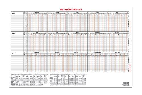 GÜSS® Urlaubsplaner 2014, Nr. 12-54, bis 15 Personen