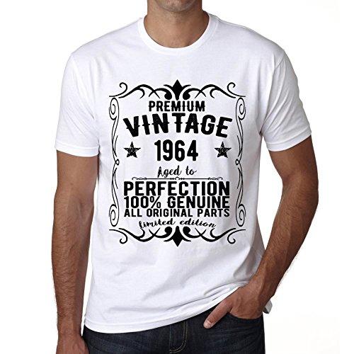 One in the City Premium Vintage Year 1964 Vintage Camiseta cumpleaños Camisetas Camiseta Regalo