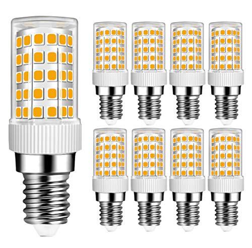 MENTA Ampoule E14 10W LED équivalent Ampoule Halogène 80W, 800Lm, Blanc Chaud 3000K, Ampoules LED E14, Not dimmable, AC 220-240V, Lot de 8