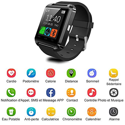ADTECK bq Aquaris E4.5 Watch Connected, Smartwatch TF (Micro SD ...