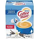 Coffee Mate Coffee Creamer Liquid Singles, French Vanilla, 24 Count (Pack of 4)