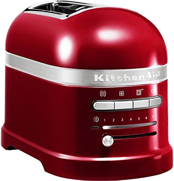 Tostapane artisan a 2 scomparti colore rosso 220 - 240 v 50 - 60 hz 5KMT2204ECA