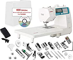 Janome 4300QDC-B Sewing and Quilting Machine