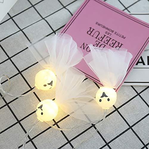 Lichtketting, decoratief, werkt op batterijen, voor slaapkamer, binnen, buiten, 10 leds, zonnepop, batterij, licht vrouwelijk, fantoom, lantaarn, kerstverlichting, model batterij, 3 meter, 20 lampen