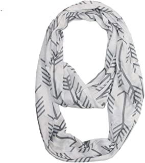TNNZEET Infinity Scarf Travel Circle Loop Scarf Stylish Lightweight Solid Colors Unisex–Fashion Soft Stretchy