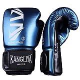 FitTrek Guantes de Boxeo -Guantes de Entrenamiento de Caja para Punzonar - Guantes de Saco de Boxeo - Muay Thai Kickboxing MMA UFC Boxing Gloves para Hombres Mujeres niños