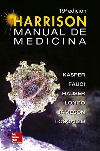 HARRISON MANUAL DE MEDICINA INTERNA (Spanish Edition)