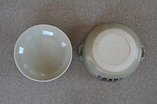 三鈴陶器『トクサ絵付け土鍋』