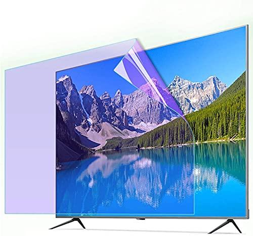 HSBAIS 32-75 Pulgadas Protector de Pantalla de TV, Película Antiarañazos Filtro de Pantalla de Relieve Anti deslumbramiento Anti-rasguños para LCD, LED, OLED & QLED 4K HDTV,40in Narrow Border