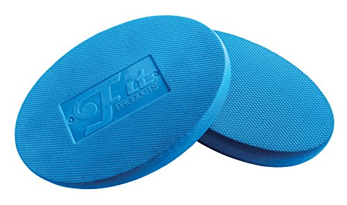 Oval Balance Pads: Ideal für Physiotherapie, Pilates, Yoga, Kampfkunst Balance / Ausdauer / Kernstabilität / Krafttraining, Bewegungsrehabilitation und vieles mehr! (Blau)