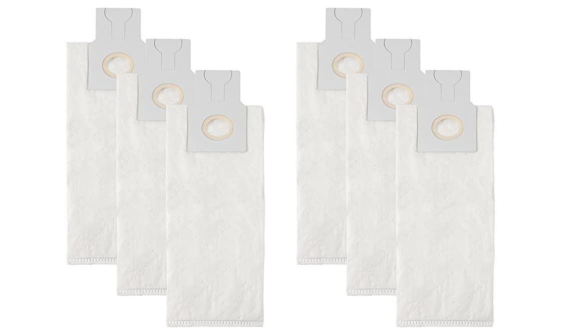 VacFlow Replacement for Riccar 2000,4000 HEPA Vacuum Bags, Vibrance Series,Simplicity 5000, 6000, Symmetry Type A (6 Bags)