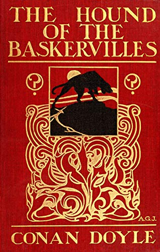 Classic Sherlock Holmes The Hound of the Baskervilles - Póster de la primera edición de 1902 (250 g/m², tamaño A4), diseño de Sherlock Holmes